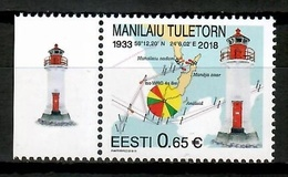 Estonia 2018 / Lighthouses MNH Faros Leuchttürme / Cu13812  4-19 - Faros