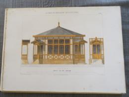 Bois De Boulogne 1875:buffet Du Pré-Catelan  Bureau De Controle - Architecture