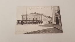 """RARE ANTIQUE POSTCARD PORTUGAL MONTEMOR - O - NOVO - SOCIEDADE DE RECREIO """" CIRCULO MONTEMORENSE""""  USED 1936 - Evora"""