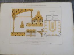 Bois De Boulogne 1875 Brasserie Et Buffet Du Pré-Catelan  Bureau De Controle - Architecture
