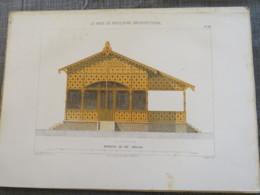 Bois De Boulogne 1875 Brasserie E Du Pré-Catelan élévation - Architecture
