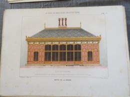 Bois De Boulogne 1875 : Buffet De La Cascade - Architecture