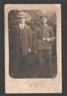 2 Jongemannen / Two Young Men / 2 Jeunes Hommes - Carte Photo Originale / Originele Fotokaart / Original Photo Card - Photographie