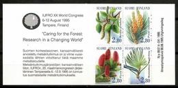 Finland 1995 Finlandia / Trees Booklet MNH Árboles Carnet Bäume Arbres / Cu13833  4-29 - Árboles