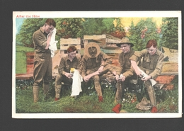 After The Hike - 1918 - From Brooklyn, NY - Scouting