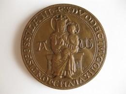 Médaille En Bronze 1972 Ville De Montpellier - France