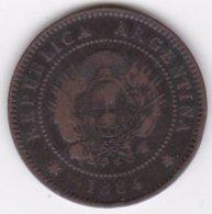 ARGENTINE / TUCUMAN . UN CENTAVO 1884. BRONZE - Argentinië