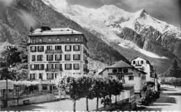 74 - CHAMONIX Mont Blanc : Hotel ASTORIA Et De La POSTE - CPSM Dentelée Noir Blanc Format CPA - Haute Savoie - Chamonix-Mont-Blanc