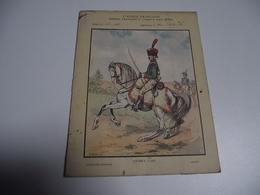 Protège Cahiers, Armée Française Depuis François 1 Er, GUIDES 1798 - Papel Secante