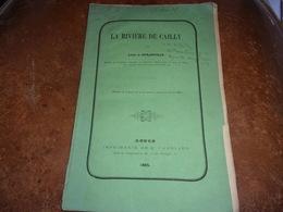 NORMANDIE 1865 RARE LA RIVIERE  DE CAILLY  LEON DE DURANVILLE PAYS DE CAUX - Normandie