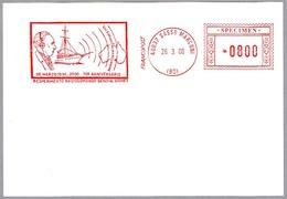 Franqueo Mecanico 70 Años Emision Radio GENOVA-SIDNEY - MARCONI - Meter. SPECIMEN. Sasso Marconi, Italia, 2000 - Telecom