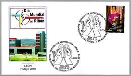 DIA MUNDIAL DEL RIÑON - Servicio De Nefrologia - WORLD KIDNEY DAY - Dialisis. Leon 2019 - Medicina