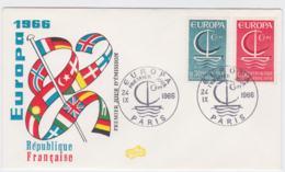 France 1966 FDC Europa CEPT (G57-23) - Europa-CEPT