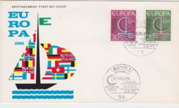 Germany 1966 FDC Europa CEPT (G57-23) - 1966