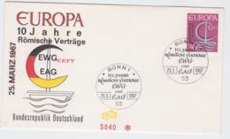 Germany 1966 FDC Europa CEPT (G57-23) - Europa-CEPT