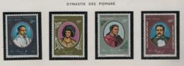 Polynésie °° 1976  Pa  106/109 Pomaré Cote: 11.40 - Unused Stamps