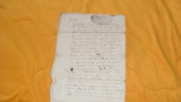 DOCUMENT MANUSCRIT ANCIEN DE 1714 OU 1719 ?....A ETUDIER...8 PAGES ECRITES..CACHET DE GENERALITE DE BORDEAUX... - Manuscripten