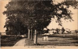La Verpillière Vue Du Parc Belle Carte écrite 26/10/1940 - Autres Communes