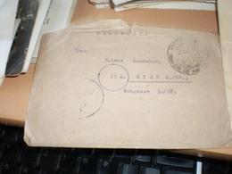 WW2 Nazy Okupation Danzig To Wien 1944 Feldpost - 1939-44: World War Two