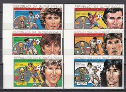 Football / Soccer / Fussball - WM 1982: Guinea-Bissau  6 W **, Imperf. - World Cup
