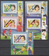 Football / Soccer / Fussball - WM 1986: Central Afrika  5 SoBl **, Perf. - World Cup
