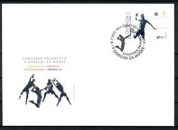 3333 D48 Slovenia 2019 FDC Sport European Volleyball Championship - Volleyball