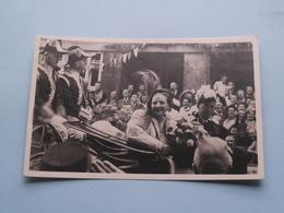 H.M. Koningin Juliana Bezoekt De Jordaan 1948 ( NEDERLAND / Holland ) Uitgave Tazet N° 287 ( Zie Foto ) ! - Familias Reales