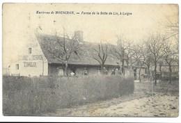LUIGNE - Ferme De La Botte De Lin...1907  Animé  (coin Pli) - Belgique