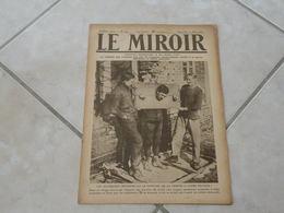 Le Miroir-la Guerre 1914-1918 -Journal N°224 - 10.3.1918 (Titres Sur Photos) Les Infos Sur La Vie Des Soldats Et Civiles - War 1914-18