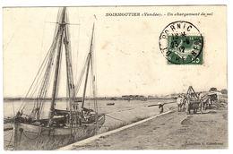 ILE DE NOIRMOUTIER (85) - Un Chargement De Sel - Ed. A. Coindreau - Ile De Noirmoutier