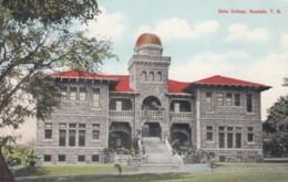 Honolulu Hawaii, Oahu College Building, Architecture, C1900s/10s Vintage Postcard - Honolulu