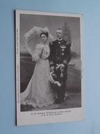 H. M. Koningin Wilhelmina En Haar Gemaal Prins Hendrik ( NEDERLAND / Holland ) Anno 19?? ( Blankwaardt & Schoonhoven )! - Familias Reales