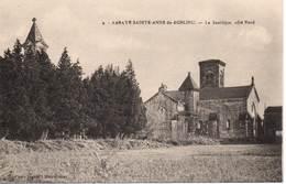 Abbaye SAINTE-ANNE-DE-BONLIEU - La Basilique, Côté Nord - Francia
