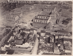 Deux Photos Aériennes De La Caserne  Neufchatel à Reims Du 12éme RAB (1930) - Guerra, Militares