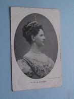 H. M. De Koningin > Anno 1908 / Blankwaardt & Schoonhoven ( NEDERLAND / Holland ) ! - Familias Reales