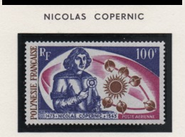 Polynésie ° Charn 1973  Pa 72  Cote: 38.5 Copernic - Neufs