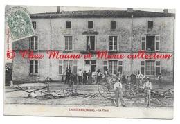 LIGNIERES LA PLACE - MEUSE - TAXE 10 + BOITE RURALE E - POUR MANGIN ST MIHIEL - CPA - France