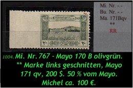 EARLY OTTOMAN SPECIALIZED FOR SPECIALIST, SEE...Mi. Nr. -.- - Burak -.- Mayo 171 Bqv -R- - 1921-... República