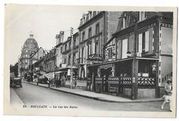 CPA 69.Houlgate - La Rue Des Bains Bon état Voir Scan - Houlgate