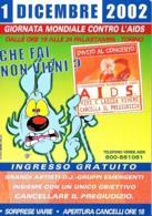 [MD3630] CPM - GIORNATA MONDIALE CONTRO L'AIDS - 2002 TORINO - PERFETTA - Non Viaggiata - Eventi