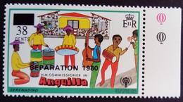 Anguilla 1980 Musique Music Surchargé Overprinted SEPARATION Yvert 383 ** MNH - Anguilla (1968-...)