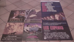 5 AFFICHES CINEMA FILMS Robert REDFORD EXPERTS AFFAIRE CHELSEA DEARDON HAVANA HOMME MURMURAIT CHEVAUX - Posters