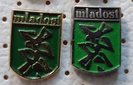 MLADOST Newspaper, Zeitung, Giornale, Journal, Magazine, Journalism Croatia Ex Yugoslavia Pins - Medias