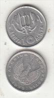 GREECE - Dolphins, Coin 10 Lepta, 1973 - Grèce