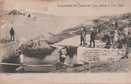 CREUSEMENT DU CANAL DE L'EAU DOUCE - Port Said