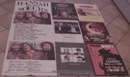 7 AFFICHES CINEMA FILMS Woody ALLEN MARIS ET FEMMES I LOVE YOU ESCROCS MAIS PAS TROP ACCORDS APHRODITE HANNAH - Posters
