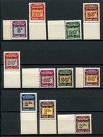 AEF 1937  Taxes N° 1/11 ** Neufs MNH Superbes C 13 € - A.E.F. (1936-1958)