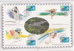 CHAMPIONNATS DU MONDE DE CYC LISME AOUT 1989 CHAMBERY-LYON - Radsport