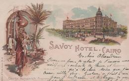 SAVOY HOTEL - Caïro