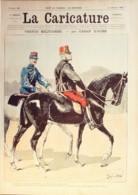 LA CARICATURE-1885-268-VERTUS MILITAIRES-CARAN D'ACHE TROCK ROBIDA-HECTOR MALOT/LUQUE - Books, Magazines, Comics